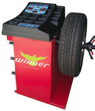 WINNER XC-368 automatic wheel balancer