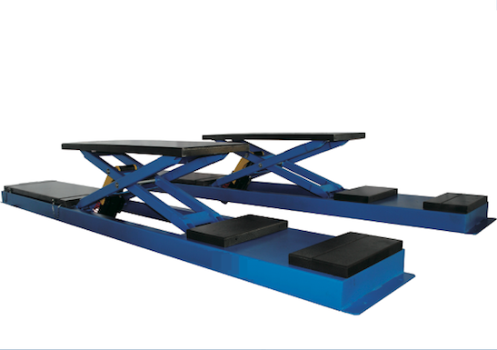 WINNER TS-35B Trench Scissor lift