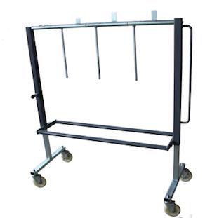 D60 Wheel Dispenser Trolley