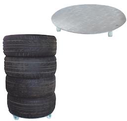D-C20 Car Tyre Wheel Dolley