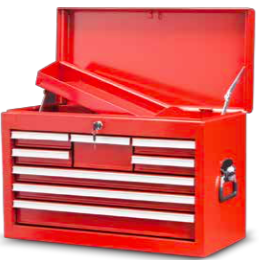 TBT202608    8-Drawer Top Tool Chest