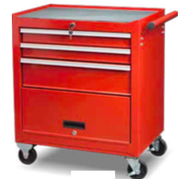 TBB202713S     3-Drawer Roller  Tool Cabinet with Door