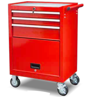 TBB202713    3-Drawer Roller Tool Cabinet with Door