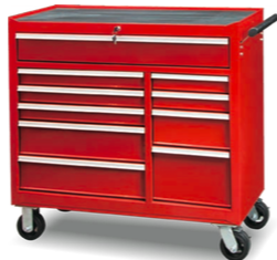 TBB204210           10-Drawer Roller Tool Cabinet