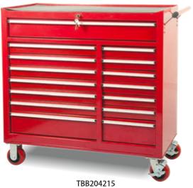 TBB204215           15-Drawer Roller Tool Cabinet