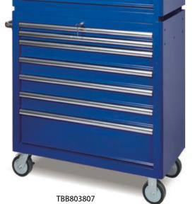 TBB803807       7-Drawer Roller Tool Cabinet